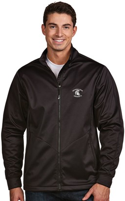 Antigua Men's Michigan State Spartans Waterproof Golf Jacket