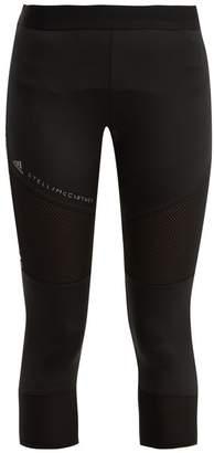 adidas by Stella McCartney Essential Cropped Performance Leggings - Womens - Black