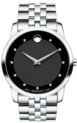 Men's Movado 'Museum' Bracelet Watch, 40Mm $1,095 thestylecure.com