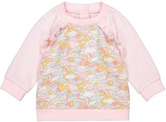 La Redoute COLLECTIONS Printed Sweatshirt, 1 Month-4 Years