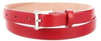 Balenciaga Skinny Leather Belt