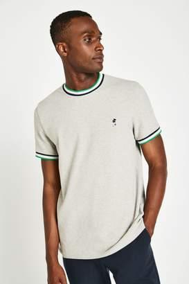 Jack Wills Baildon Pique Ringer T-Shirt