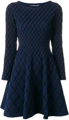 Valenti Antonino flared knitted dress