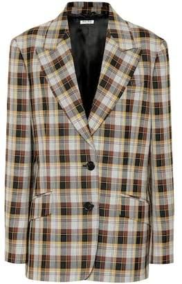 Miu Miu Checked wool blazer