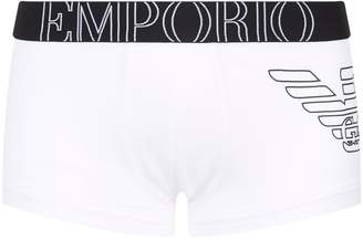 bcb36249fd Emporio Armani White Underwear & Socks For Men - ShopStyle UK