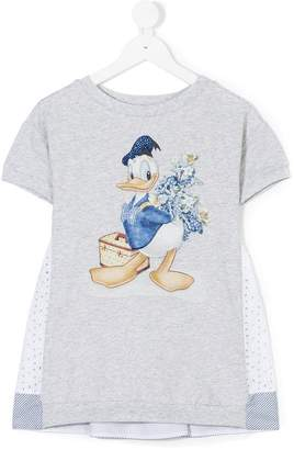 MonnaLisa embellished Donald T-shirt dress