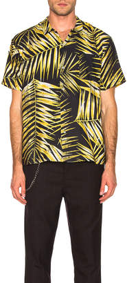 Double Rainbouu DOUBLE RAINBOUU Hawaiian Shirt in Tiger Palm | FWRD