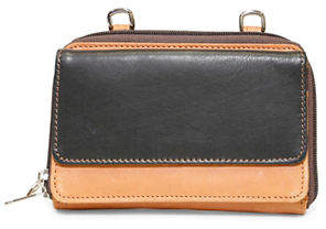 Isabella Collection ASHLIN Two-Tone Leather Wallet