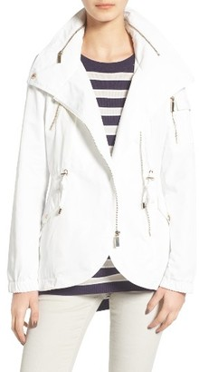 Women's French Connection Tulip Hem Anorak $118 thestylecure.com