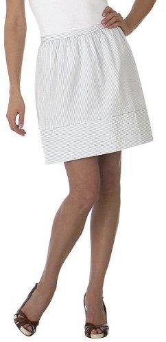 Isaac Mizrahi for Target® Seersucker Skirt - Silver Birch/ White
