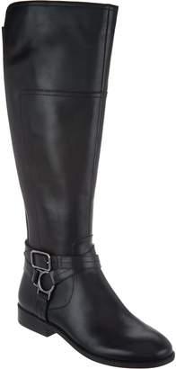 Marc Fisher Medium Calf Leather Tall Shaft Boots - Aliza