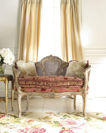 Floral Settee Floral Settee Sold Out U2022 Neiman Marcus Neiman Marcus Sofas