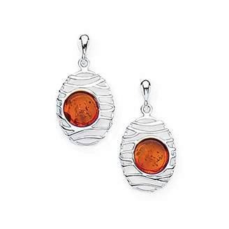 Goldmajor Women Amber Dangle and Drop Earrings ER1357