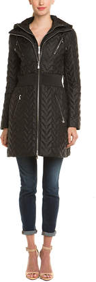 Dawn Levy 2 Black Quilted Coat