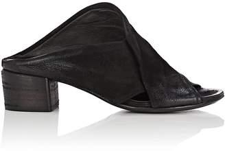 Marsèll Women's Crisscross-Strap Leather Mules