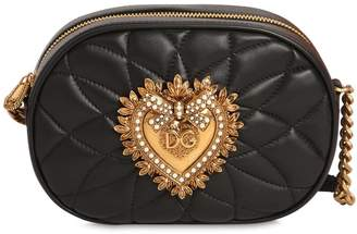Dolce & Gabbana Devotion Quilted Leather Camera Bag