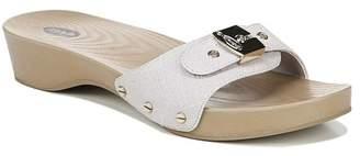 Dr. Scholl's Classic Snake Embossed Sandal