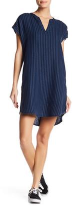 Allen Allen Stripe Linen Dress $114 thestylecure.com