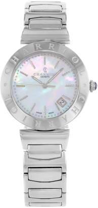 Charriol Women's AMS920002 Alexandre C Analog Display Swiss Quartz Silver Watch