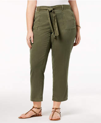 Style&Co. Style & Co Plus Size High-Rise Soft Pants