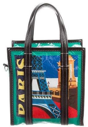 Balenciaga Bazar XS Paris Leather Shopper
