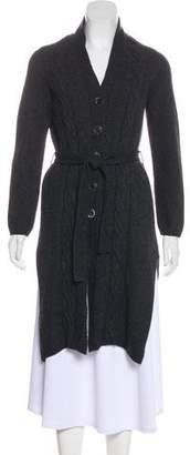Max Mara Belted Wool Cardigan