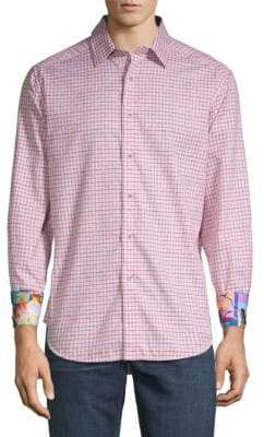 Robert Graham Torrey Printed Dress Shirt