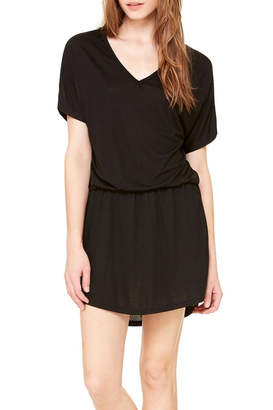 Bella Flowy V Neck Dress $38 thestylecure.com