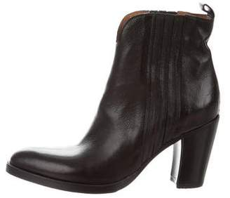 Sartore Mid-Heel Ankle Boots