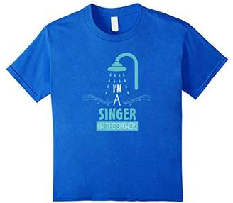 I'm A Singer In The Shower Funny Karaoke Singing T-Shirt
