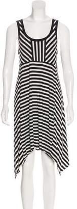 DKNY Stripe Knee-Length Dress