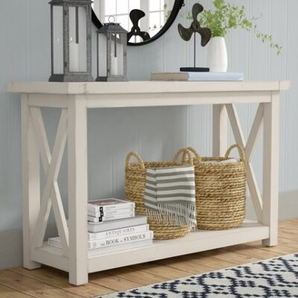 Laurèl Foundry Modern Farmhouse Moravia Console Table Foundry Modern Farmhouse