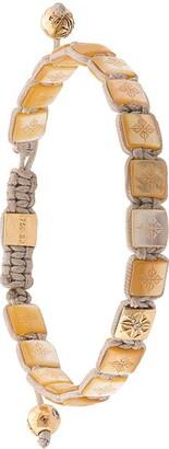 Shamballa (シャンバラ) - Shamballa Jewels パール&ダイヤモンド ブレスレット 18Kイエローゴールド