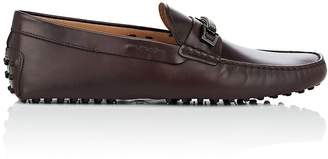 Tod's MEN'S BIT-DETAILED SPAZZOLATO LEATHER DRIVERS