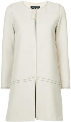 Vanessa Seward zipped jacket dress