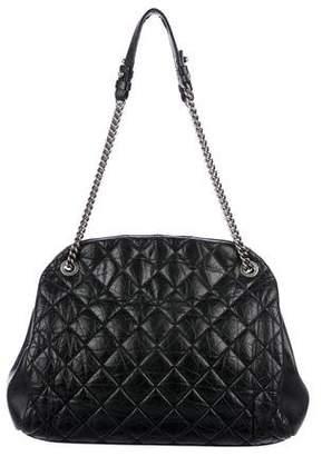 Chanel Aged Calf Bowler Bag
