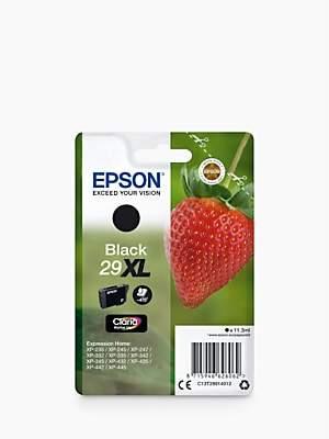 Epson Strawberry T2991 XL Inkjet Printer Cartridge, Black