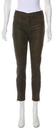 Current/Elliott Mid-Rise Skinny Pants