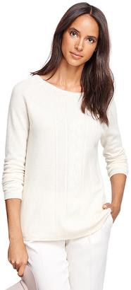 Cashmere Boatneck Sweater $228 thestylecure.com