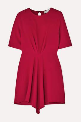 IRO Demeteros Draped Crepe Mini Dress - Fuchsia