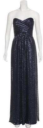 Amsale Sequin Evening Dress w/ Tags