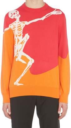 Alexander McQueen 'dancing Skull' Sweater