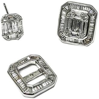 Arthur Marder Fine Jewelry 18K 1.25 Ct. Tw. Diamond Earring Jackets