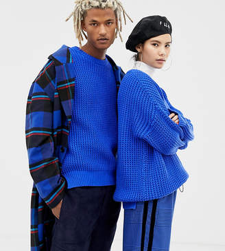 Collusion COLLUSION Unisex oversized sweater in chunky rib
