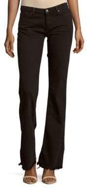 IRO Freddy Fringed Flared Jeans