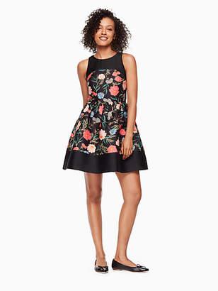 Kate Spade Blossom mikado mini dress