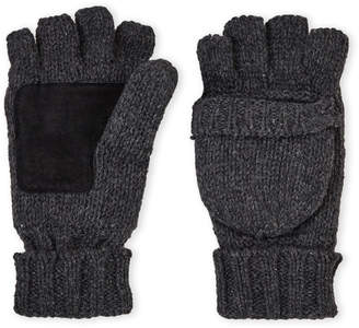 Gii Rag Wool Pop Top Mittens