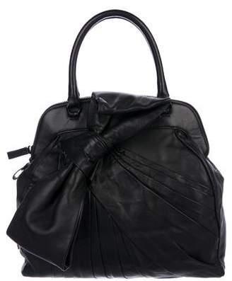 Valentino Smooth Leather Satchel