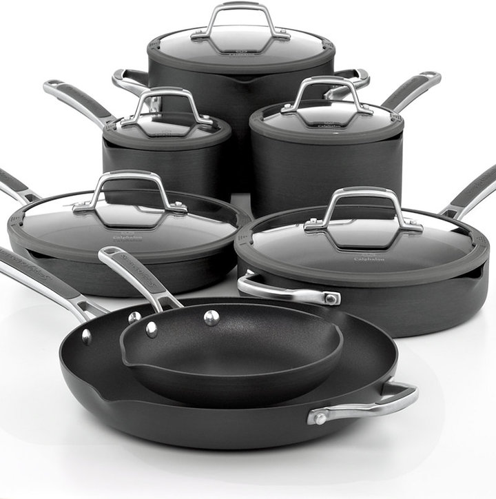 "Calphalon "" Simply Easy System 12 Piece Cookware Set"""