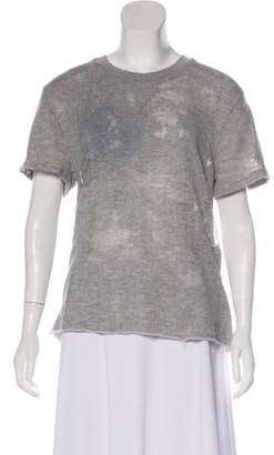IRO Tonal Short Sleeve Top